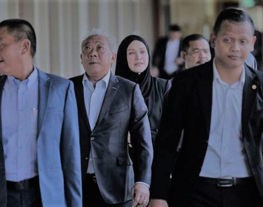 Bung Moktar, Zizie Izette: Corruption case re-mention fixed