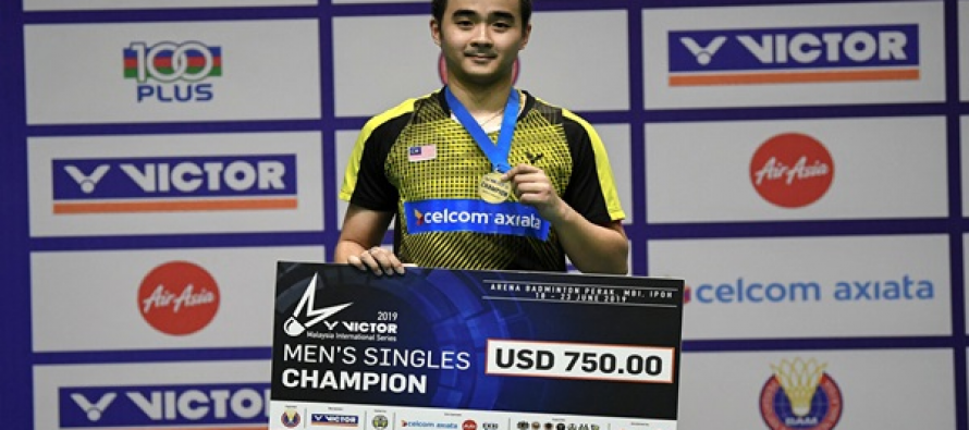 Joo Ven bags first Malaysia International Series title
