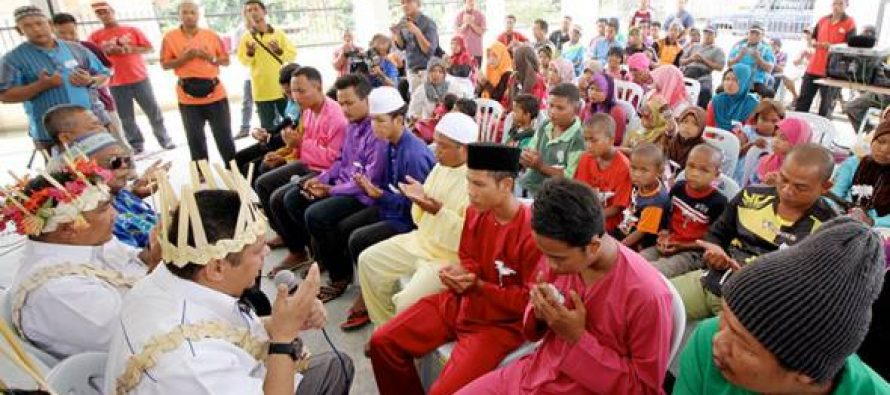 Conversions humiliate the Orang Asli community