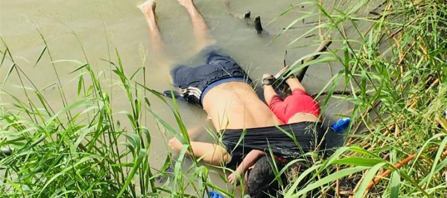 Drowned Salvadoran migrant father and daughter spark global anguish