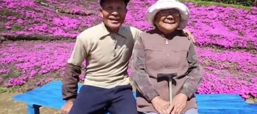 Husband Plants Thousands of Flowers For His Blind Wife To Smell