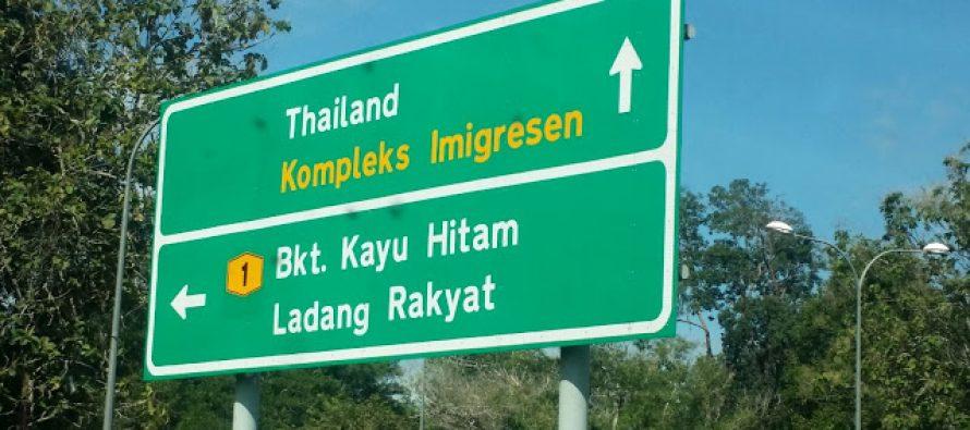 MAF detain 20 Myanmar nationals near Bukit Kayu Hitam