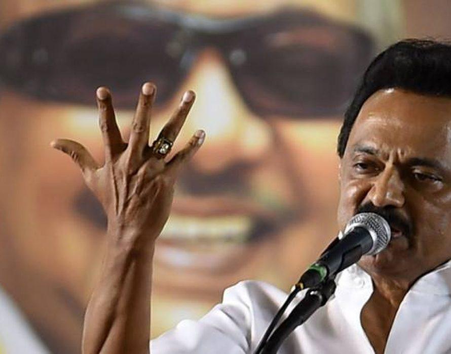 DMK: Hindi not in the blood of people of Tamil Nadu
