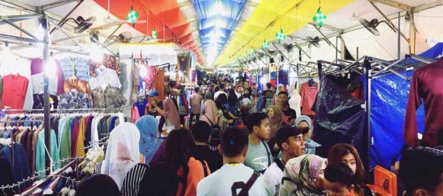 The plus and minus points in Jalan Raja Ramadan Bazaar