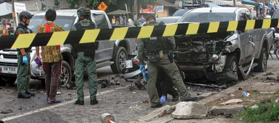 Two Pattani bombing suspects apologise to families of victims