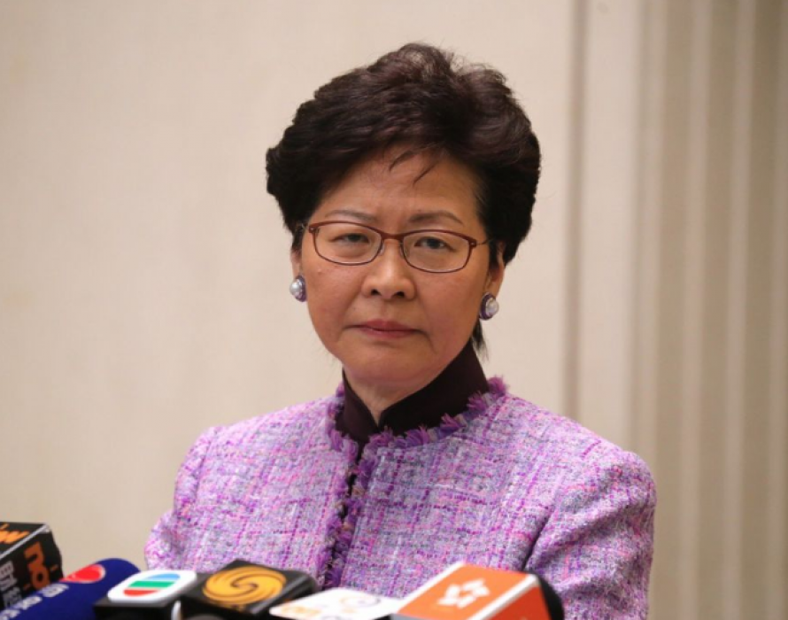 Lam: No scrapping of extradition bill