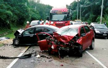 Senior citizen dies, eight others suffer injuries in accident