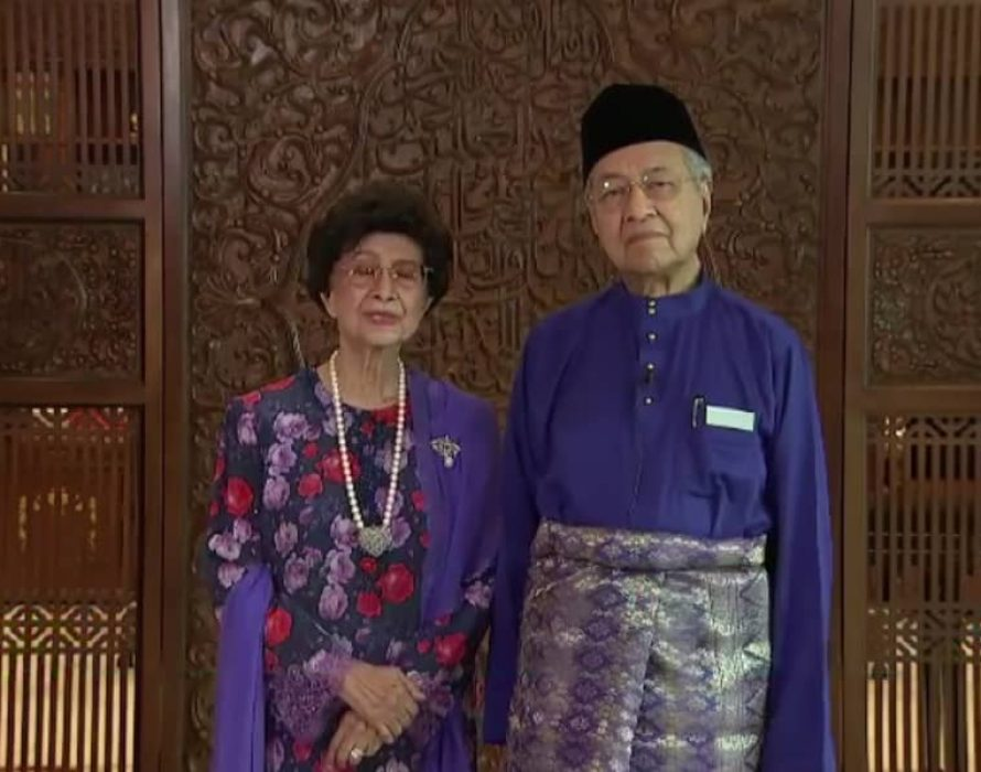 Dr M and wife: Take care, Chong Wei