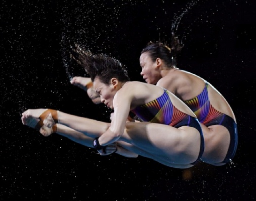 No shortage of talent in diving