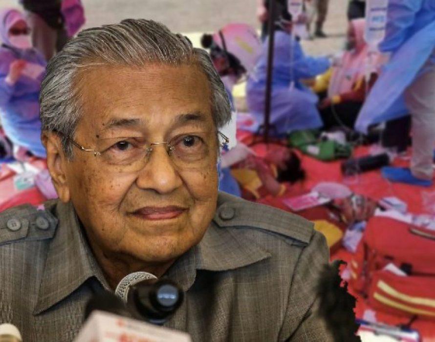Mahathir: Stern action against Pasir Gudang culprits
