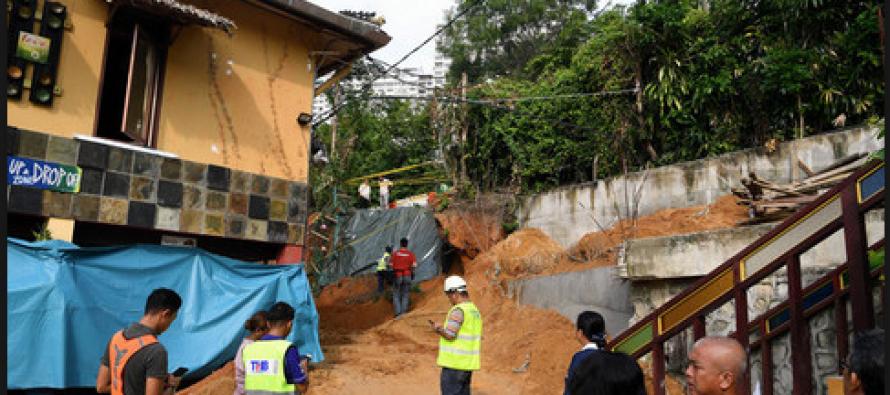 PWD: Illegal earthworks by resort caused Batu Ferringhi landslide