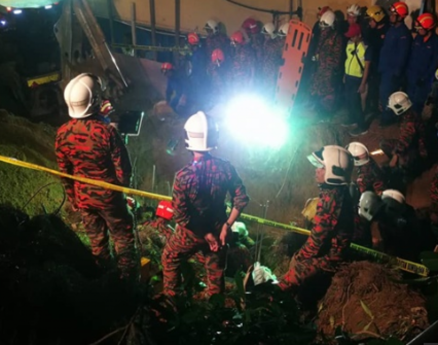Four dead in Penang after wall at hotel collapses