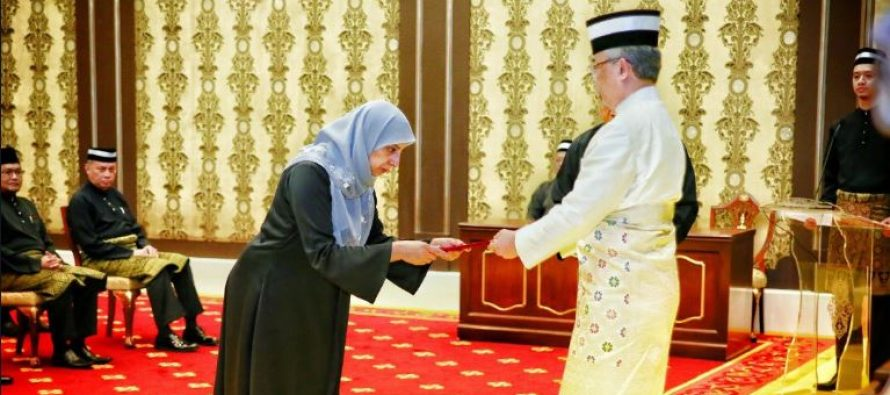 Latheefa takes oath as new MACC chief commissioner