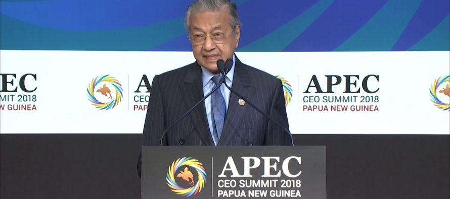 Tun M: Ensure substantive deliverables when Malaysia hosts APEC 2020
