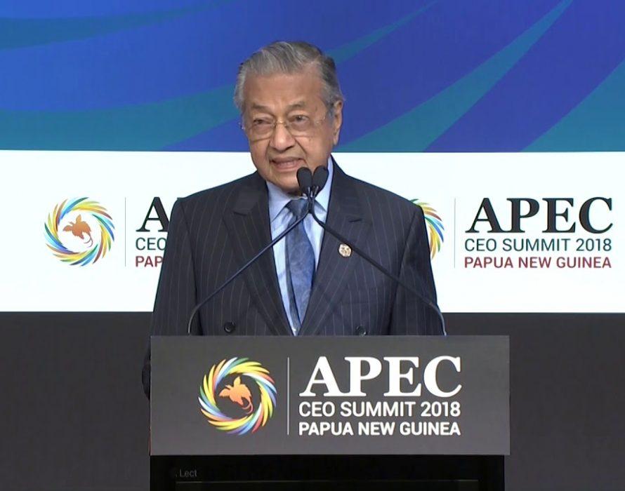 Tun M: Ensure substantive deliverables when Malaysia hosts APEC 2020