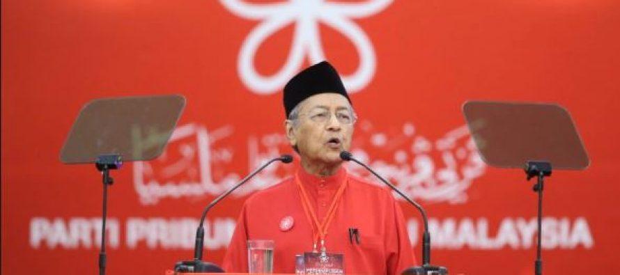 Mahathir: Bersatu not postponing elections