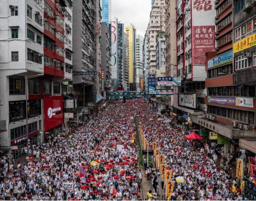 Fresh protests rattle Hong Kong, want voice at G20 summit