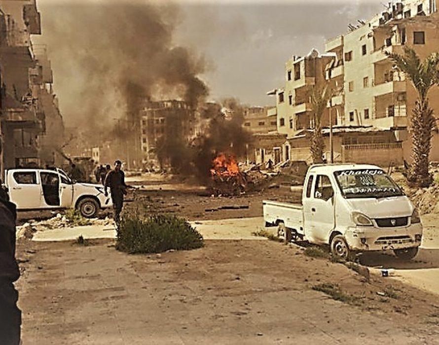 Ten dead in Islamic State's suicide car bomb attack