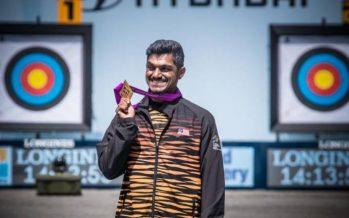 Suresh congratulated for golden feat