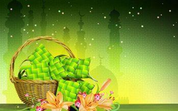Hari Raya on Wednesday