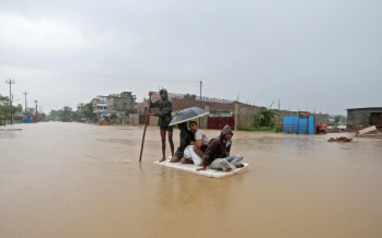 100 killed, millions displaced in India, Nepal and Bangladesh