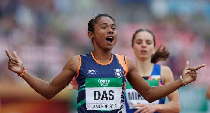 Five gold medals and a viral video: Why the brouhaha over Hima Das' winning runs makes no sense