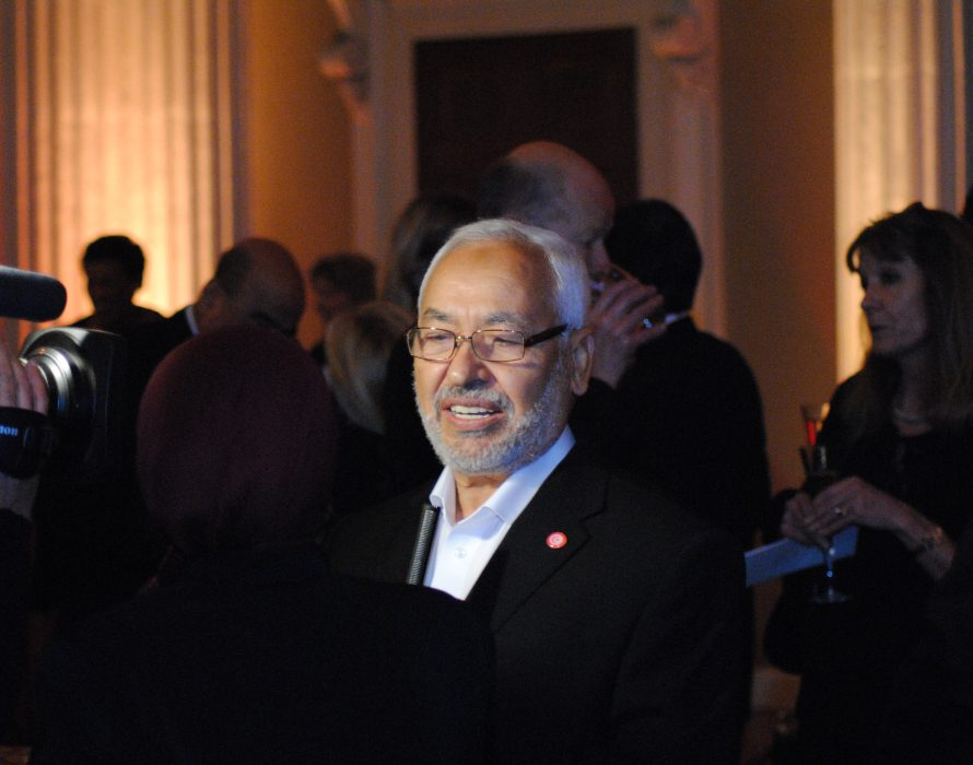 Moderate Ennahda's Rached Ghannouchi bids for Tunisia polls