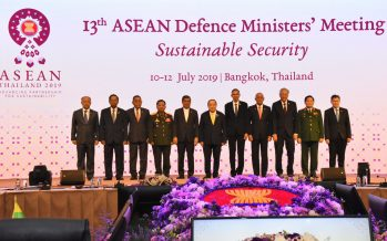 Asean Centrality a priority at ADMM