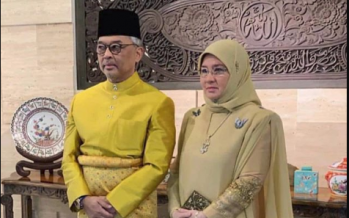 Agong welcomes third grandson
