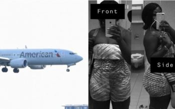 American Airlines: Cover up or no flying
