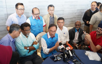 Sabah PKR chief: Stand by Anwar