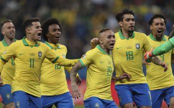 Jesus, Firmino seal Brazil spot for Copa America final