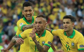 Brazil clinched Copa America, as expected