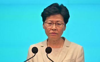 Beijing backs Carrie Lam