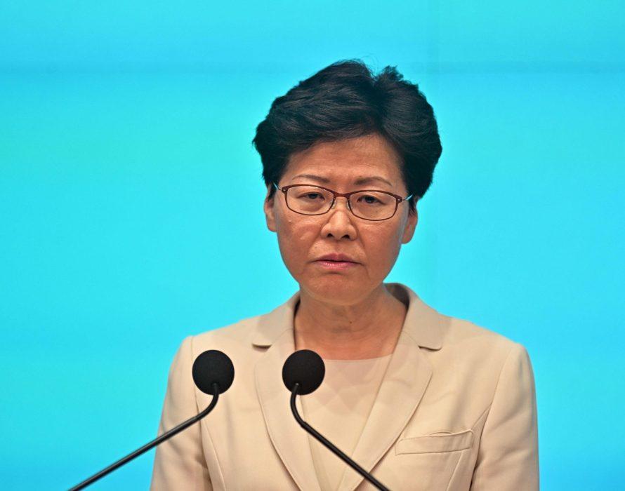 Beijing backs Carrie Lam