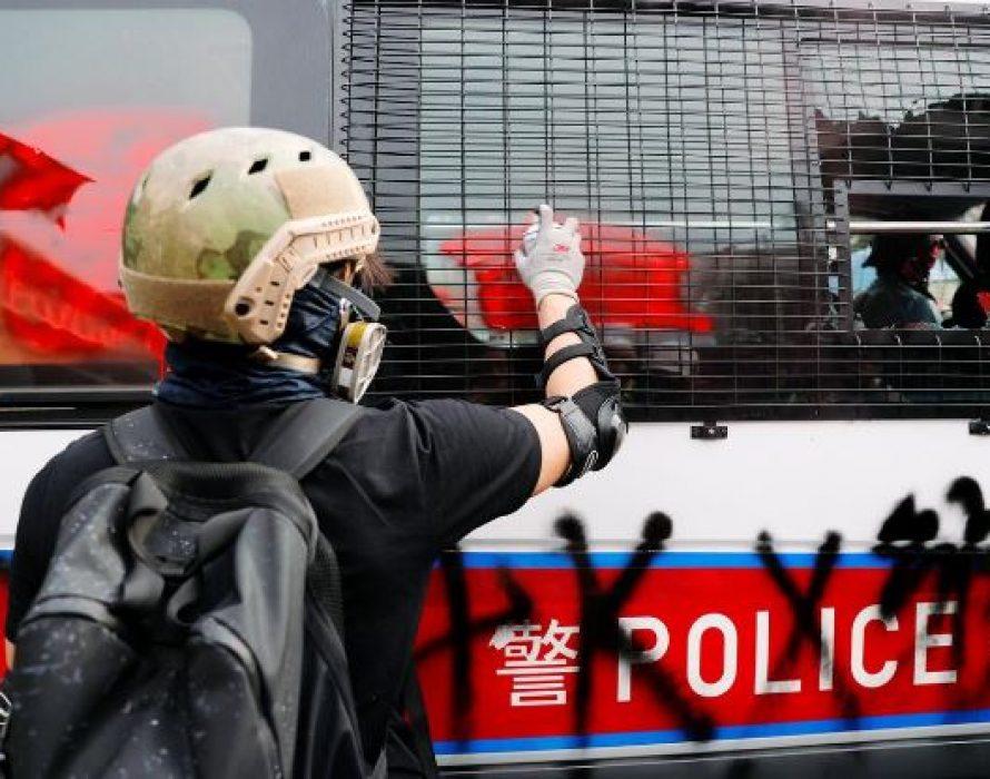 Tear gas, rubber bullets rain clashes with anti triad march