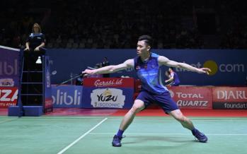 Malaysia's shuttler Lee Zii Jia beats Olympic champ Chen Long in Indonesian Open