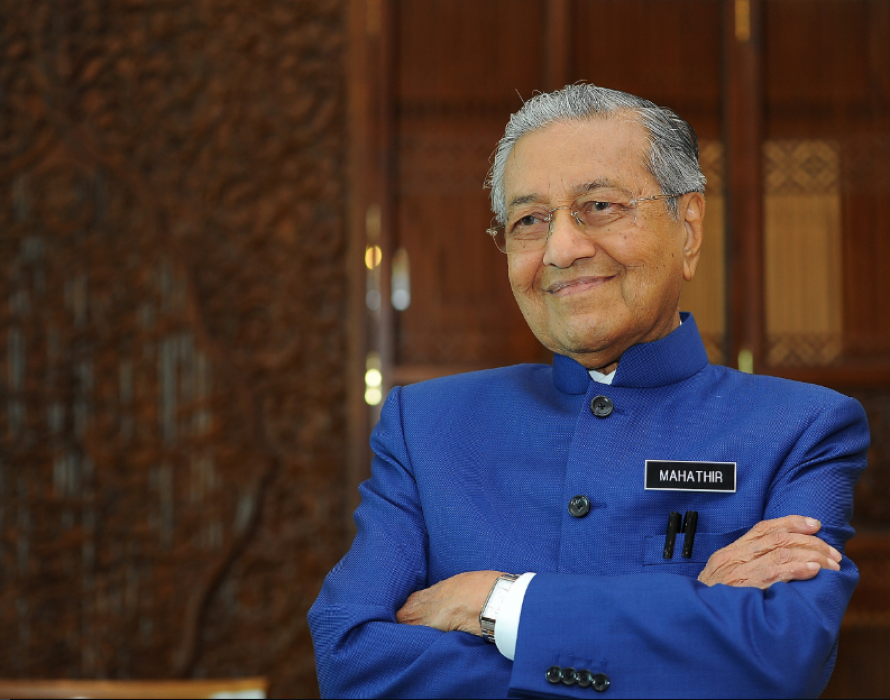 Dr M on Rania's appointment: I don't know her gender