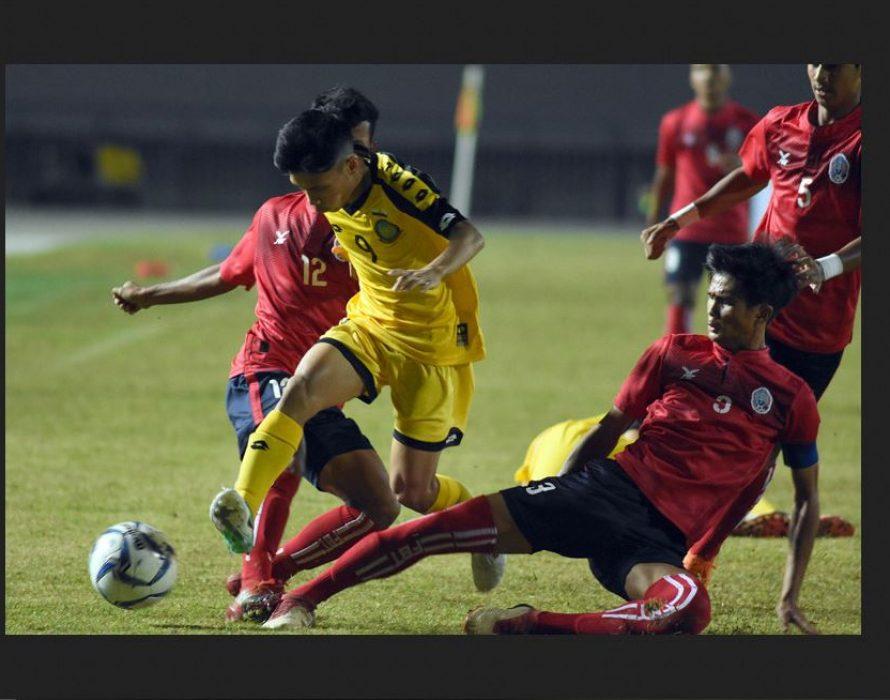 Malaysia whitewashes Brunei 8-0