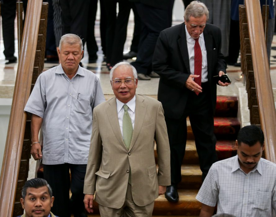 Najib exhausted legal options to delay his 1MDB options and failed…