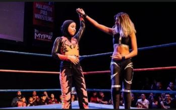 Rise of the 'Phoenix': Malaysia's hijab-wearing wrestler a phenomenon