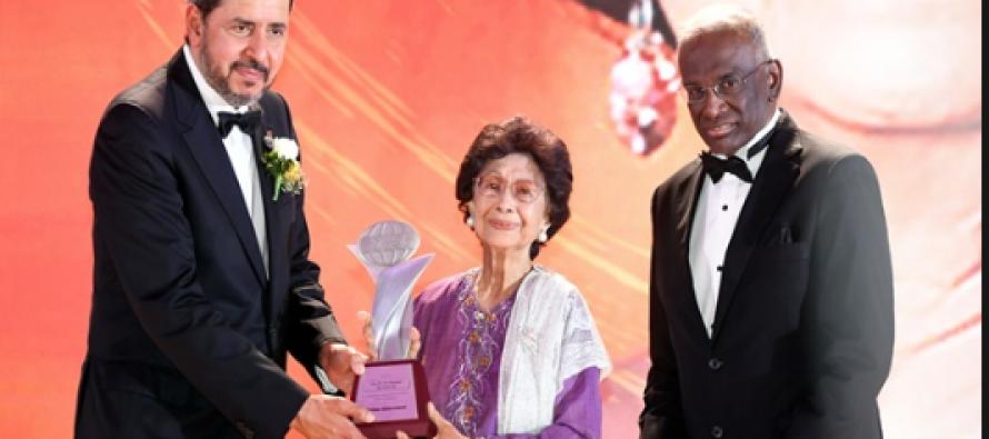 Siti Hasmah conferred Asia HRD Lifetime Achievement Award