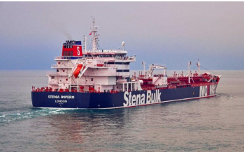 UK: Iran seized two oil tankers in Gur, Tehran says only one