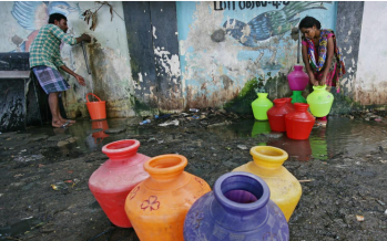Water crisis: India sends out 250 civil servants to dry areas