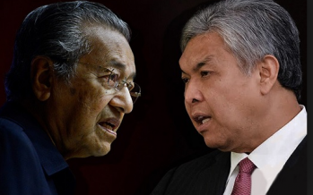 Malay unity offer: Zahid says no to Dr M