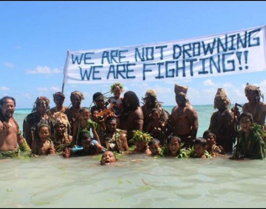 Endangered by climate change, Pacific island nations chide Australia