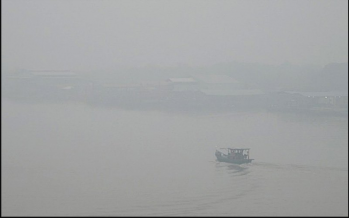Haze condition worsens in Sri Aman, Miri