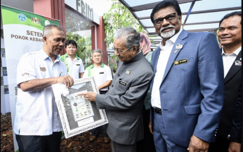 PM: Merbau is now Malaysia's national tree