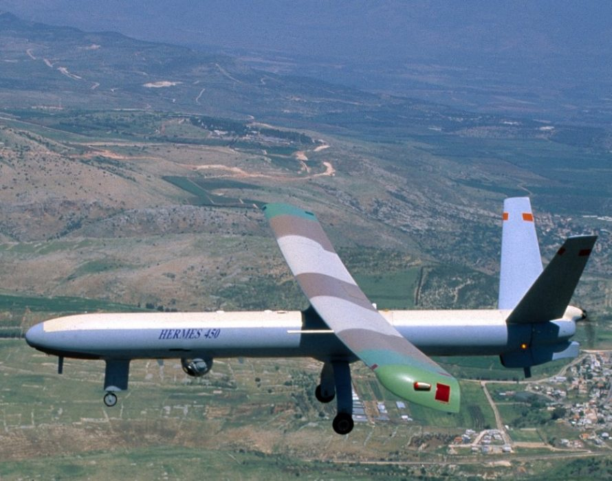 First Israeli drone falls off, second one crash