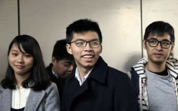 Joshua Wong arrested ahead of weekend protests